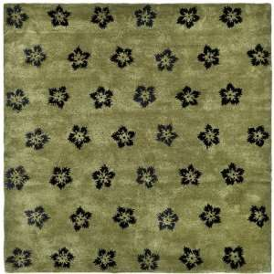 Safavieh Rugs Soho Collection SOH720A 6SQ Sage/Black 6 x