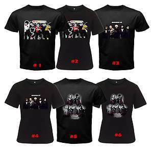 Popular Boy Band Korean Alive Tonight Black T Shirt Sto3XL Men & Women