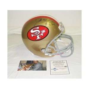Deion Sanders Autographed Helmet   Replica Sports