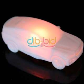 New Home Mini Car Color Changing LED Xmas Mood Night Lamp Light Party