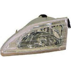 94 98 FORD MUSTANG HEADLIGHT LH (DRIVER SIDE), Cobra Model