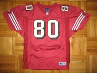 1999 Authentic 49ers Jerry Rice ADIDAS jersey 50 SIGNED Autographed