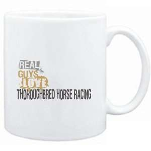 Real guys love Thoroughbred Horse Racing  Sports