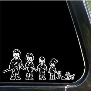 Army Family Decals Stickers Stick People Family Military