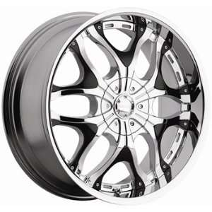 Akuza Creation 20x9 Chrome Wheel / Rim 6x5.5 with a 35mm Offset and a