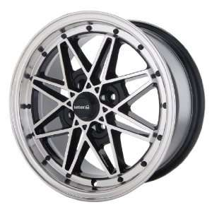 15x7 Maxxim Screech (Black w/ Machined Lip) Wheels/Rims