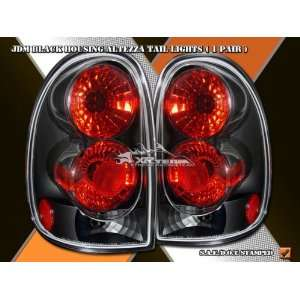 Plymouth Grand Voyager Tail Lights JDM Black Taillights 1996 1997 1998