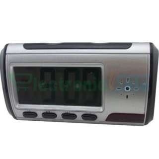 Spy Electronic Digital Alarm Clock Camera Video DVR Recorder Black