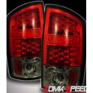 Dodge Ram Led Tail Lights Red Smoke Altezza LED Taillights