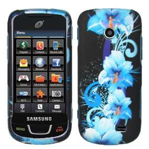 iFase Brand Samsung T528G Cell Phone Blue Flower