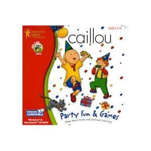 New Brighter Child Caillou Party Fun Games 4 Party Themes