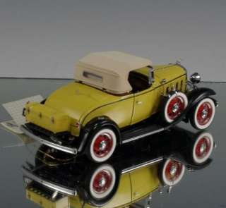 Franklin Mint Die cast car 1932 Confederate