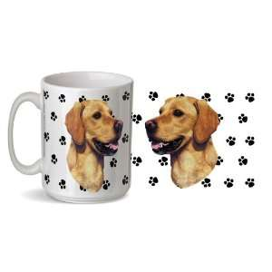 Golden Retriever Golden Labrador Retiever Dog  15 Ounce