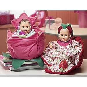 of snuggle & gogarden baby soft bodY dolls rose and strawberry   cute