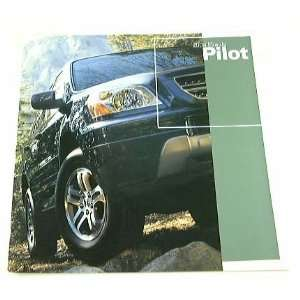 2004 04 Honda PILOT Truck Suv BROCHURE LX EX Everything