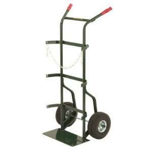 High by 23 Inch Wide Utility Hand Truck with 10 Inch Pneumatic Wheels