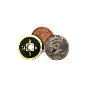 Copper Brass (Chinese Coin) Transposition by Tango Toys & Games