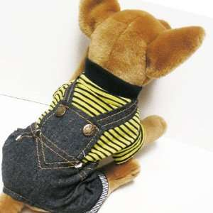 GREEN CUTE OVERALL Pet Appareal dog clothes APPAREL Chihuahua Teacups