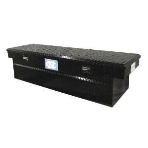 Aluminum Single Lid Full Size Cross Bed Truck Tool Box Automotive