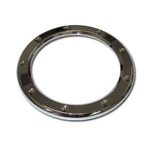 AutoXccessory Chrome Plated Billet Fuel Trim Ring, for the 2006 Hummer