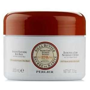 Perlier Shea Butter Nurturing Body Balm Sweet Almond Milk 7oz Beauty