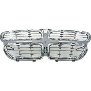 QP D025A a Dodge Stratus Chrome Gray Grille Automotive