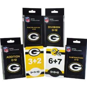 Specialties Green Bay Packers Math Pack Flash Cards