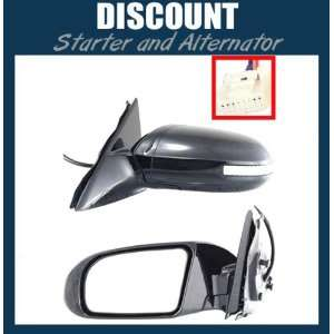 New Driver Side Mirror LH 2009 2011 Nissan Maxima, Power, Non Heated
