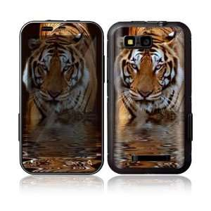 Fearless Tiger Decorative Skin Decal Sticker for Motorola