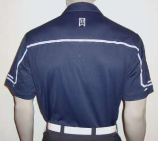2011 Nike Tiger Woods Bonded Back Golf Polo Shirt w/ Ribbon