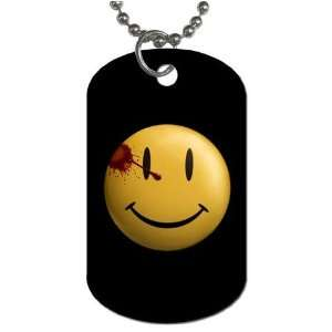 Watchmen Smiley Face Double Sided Dog Tag b Everything