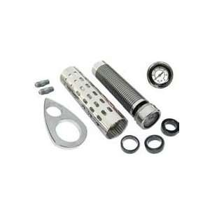 BILLET OIL COOLER KIT WITH OIL PRESSURE GAUGE  Frontiercycle(Free U.S