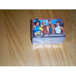 The Flintstones topps 1993 trading card set of 88 with 11