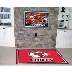 BSS   Kansas City Chiefs NFL Floor Rug (4x6) Everything