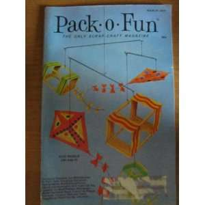 Pack o Fun Scrap Craft Magazine March 1974 Everything