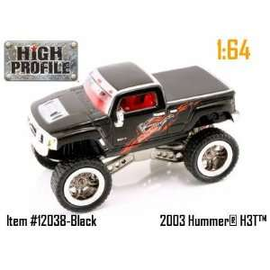 Jada Dub City High Profile Black Hummer H3T Concept 164