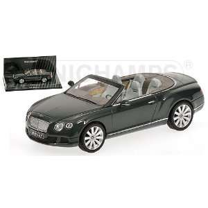 Continental GTC in Green Diecast Model Car in 143 Scale Toys & Games