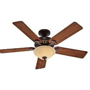 Fan 21434 Core Ceiling Fans 52 Inch New Bronze with 5 Walnut Cherry