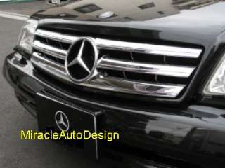 Front Grille (Chrome) 89 01 Mercedes Benz R129 SL Class