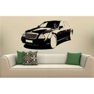 Wall MURAL Vinyl Decal Sticker Car MAYBACH 57 S. 1676