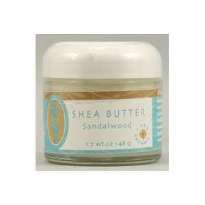 Brigit True Organics Shea Butter Sandalwood    1.7 oz