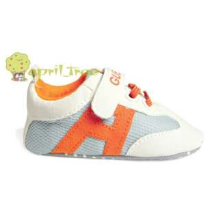 New Grey Toddler Baby Boy Girl shoes Trainer Prewalker (E42)size 3 15M