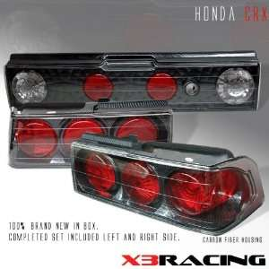 Honda CRX Tail Lights JDM Carbon Altezza Taillights 1988