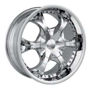 22x9.5 MPW Style MP203 (Chrome) Wheels/Rims 5x115/120
