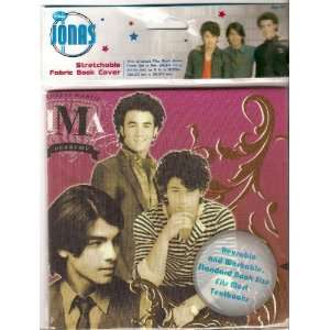Jonas Brothers Stretchable Fabric Book Cover Toys & Games