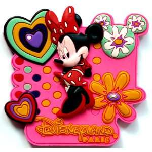 Paris Disneyland Minnie Mouse Fridge Magnet ~ Refrigerator Magnet
