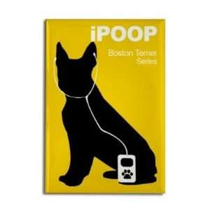 Boston Terrier iPOOP (iPod) Fridge Magnet