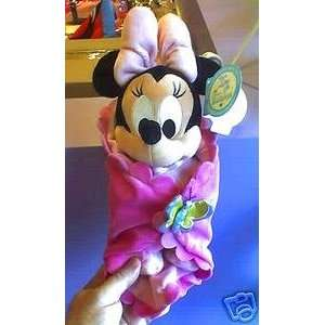 Baby Minnie Mouse In Blanket Plush (Walt Disney World