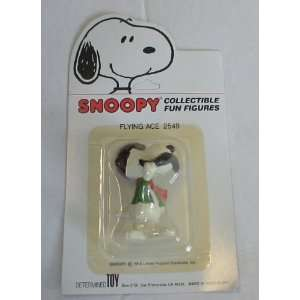 Peanuts Snoopy Flying Ace PVC Figure MOC (1980s