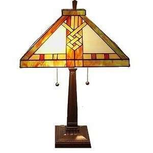 Tiffany style Mission style Table Lamp Electronics